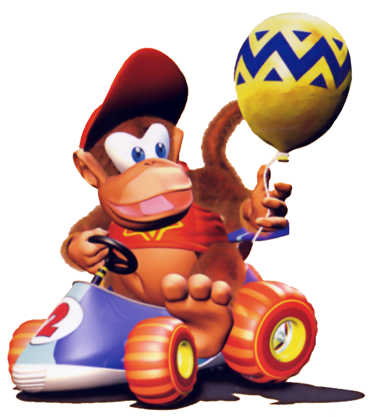 Diddy Kong Racing - Diddy - Balloon by PaperBandicoot on ...