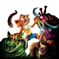 Crash: Mind over Mutant - Front Cover Artwork by PaperBandicoot