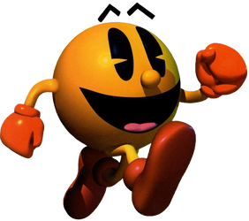 Pac-Man - Early 3D Render by PaperBandicoot