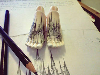 WIP City on the feet. by TheGreenFish