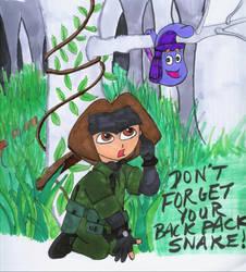 Metal Gear Dora by Jackov