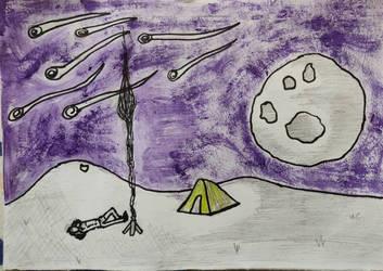 Untitled campout by cluelessjinn