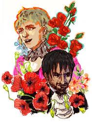 Flowers by SaerwenApsenniel