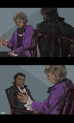 A Conversation by SaerwenApsenniel