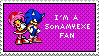 I'm a SonAMY.EXE Stamp by Forever-Amy-EXE