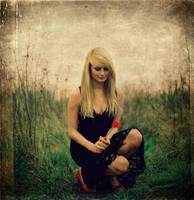 feelings on a grass by beberni