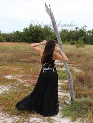 Snow White Black Dress STOCK IMG4 by Queens-Revenge