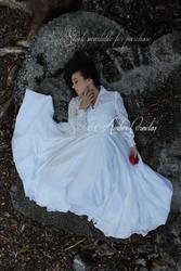 Snow White Slumber STOCK IMG by Queens-Revenge