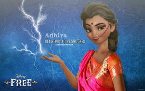 Adhira, Queen of Lightning by uzunae