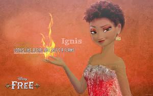Ignis, Flame Lady by uzunae