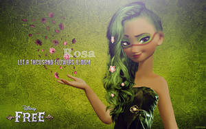 Rosa, Mother Nature by uzunae