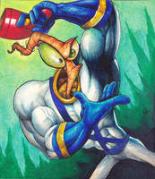 Earthworm Jim by Real-Warner