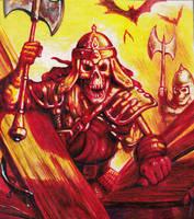 Skeleton Warrior by Real-Warner