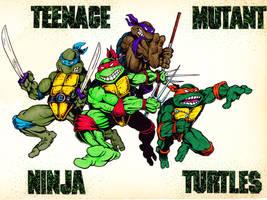 Teenage mutant ninja turtles by Real-Warner