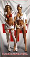 Sexy Nurses by Real-Warner