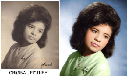 retrato de mi Madre by Real-Warner