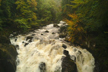Autumn Falls by Rick-TinyWorlds