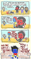 How I met your mother - Nightcrawler Style by LauraFMeis