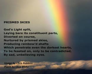 Prismed Skies -Cornish Poet Clive Blake by CliveBlake