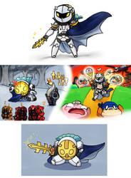 The Meta Knight by No-pe