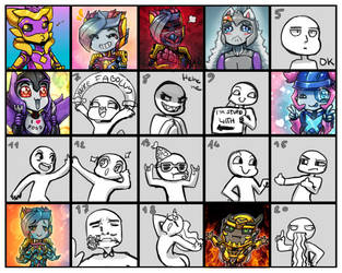 YCH expressions - PayPal/open by No-pe