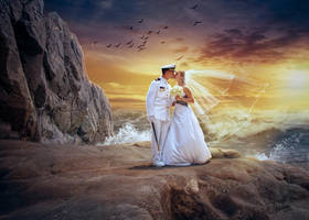 Marine wedding by VitaShuba