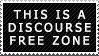 Discourse-Free Zone Stamp f2u by voidirium