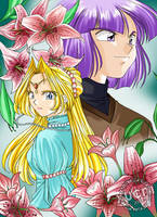 Blossoming Affection by Xellia-Metallium