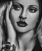 Kylie Jenner  by RockyLeeArt