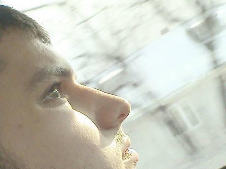 Staring at the sun by plain-kady