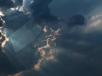 Door to heaven by plain-kady