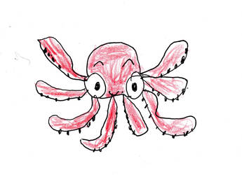 Oliver the Octopus by RoverJohn2