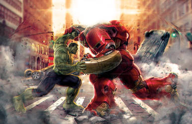 HULK vs HULKBUSTER by steeven7620