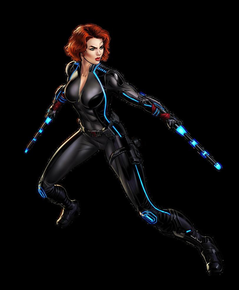 Black widow marvel - photo#29