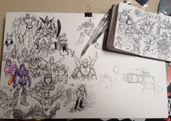 Transformers sketches by vibog-3