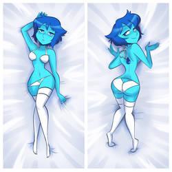 Commission: Dat Sexy Lapis Lazuli! by CK-Draws-Stuff