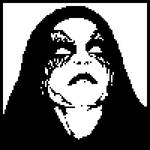 Black Metal Portrait by sektor8bit