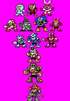MegaMan PB and F stances NES by legorulez49