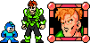 MegaMan styled Android 16 by legorulez49