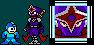 MegaMan styled ShadowMan.exe by legorulez49