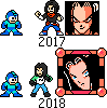 MegaMan styled Android 17 - 2018 update by legorulez49