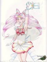 Super Sailor Chibi Moon - 2011 by KatherineRosePeacock