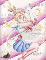 Fan Art - Sailor Moon - 2008 by KatherineRosePeacock