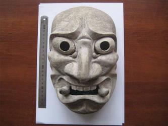 Mask of Oni unfinished by klowolk