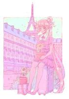 Hoshi in Paris by loveedreams