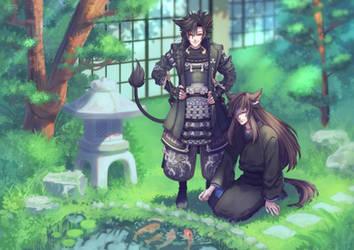 Japanese Garden (Comm) by loveedreams