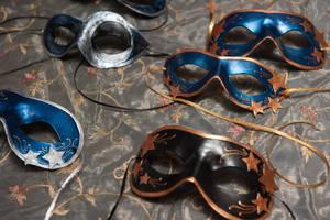Luminalia Masks by pilgrimagedesign