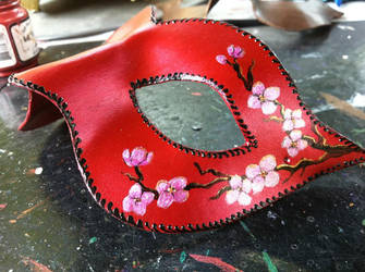 Cherry Blossoms in Progress by pilgrimagedesign