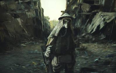 Japan warrior - speedpainting by PodaViktor-SK