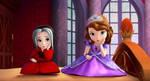 Thoughtful Calista And Princess Sofia by YesiEguia